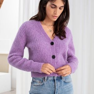 NWOT & Other Stories Wool Blend Cardigan